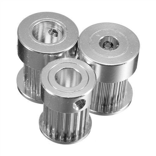 8mm Aluminum Timing Pulley For 3D Printer [2 pcs]